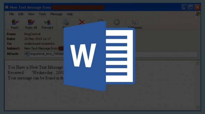 ms word malware