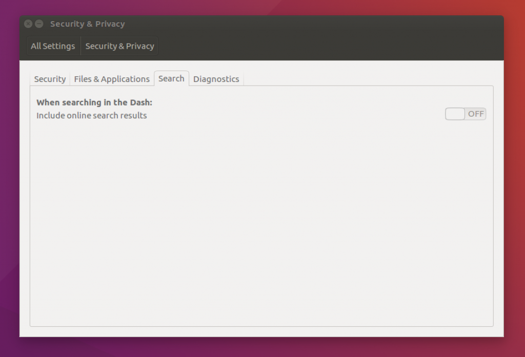 ubuntu online search